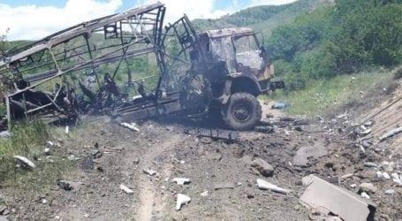 Νεκροί από έκρηξη νάρκης δύο δημοσιογράφοι και ένας αξιωματούχος