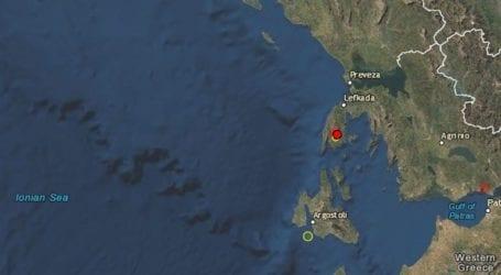 Σεισμός 3,2 Ρίχτερ στην Κεφαλονιά