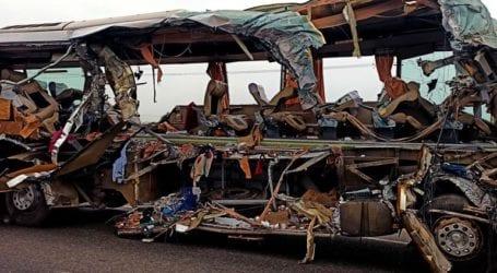 Τουλάχιστον 30 νεκροί σε σύγκρουση τρένων