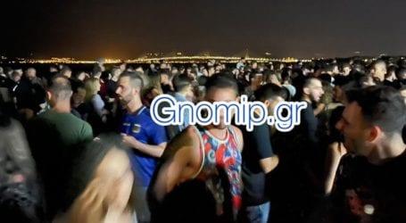 Το αδιαχώρητο στην Πλαζ- Πάρτι με περισσότερα από 2.000 άτομα