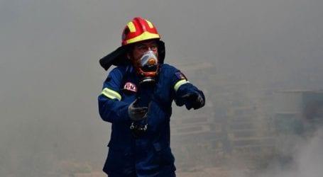 Πυρκαγιά στο Κάτω Σούλι Μαραθώνα