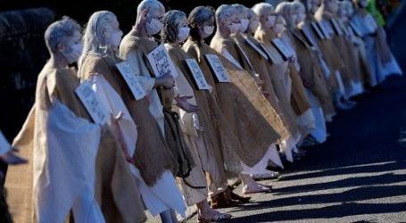 Μαζικές διαδηλώσεις για το κλίμα στην Κορνουάλη