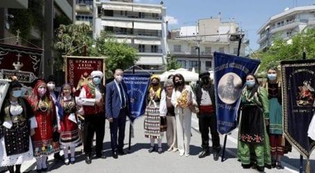 Επίσκεψη αντιπροσωπείας της Επιτροπής «Ελλάδα 2021» σε Κατερίνη και Λιτόχωρο