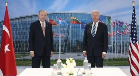 Έληξε η συνάντηση Μπάιντεν-Ερντογάν