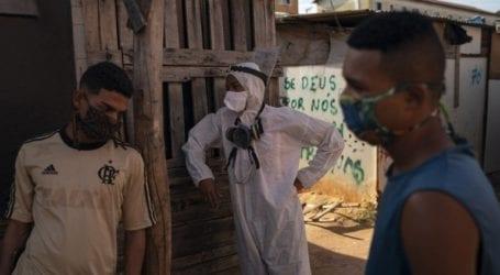 Πλησιάζουν τους 500.000 οι θάνατοι στη Βραζιλία