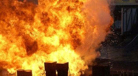 Τρεις εργαζόμενοι τραυματίες από ισχυρή έκρηξη σε εργοστάσιο πυρομαχικών