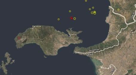 Σεισμός 3.0 Ρίχτερ βορειοανατολικά της Σάμου
