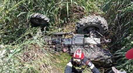 Νεαρός αγρότης καταπλακώθηκε από το τρακτέρ του – Απεγκλωβίστηκε σώος