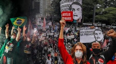 Παλλαϊκές αντιδράσεις στη Βραζιλία κατά του Μπολσονάρου