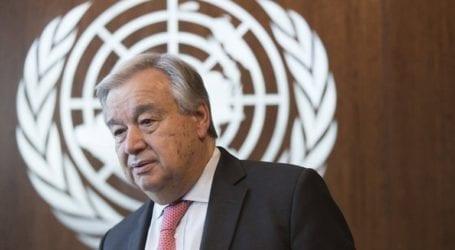 Τον Γκουτέρες συνεχάρη ο Γενικός Γραμματέας του Αραβικού Συνδέσμου για την επανεκλογή του