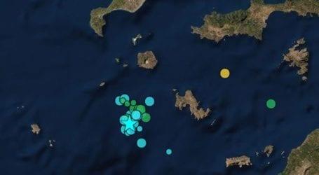 Σεισμός 3,6 Ρίχτερ νοτιοδυτικά της Τήλου