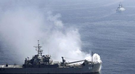 Ρωσικό σκάφος έριξε προειδοποιητικά πυρά κατά βρετανικού