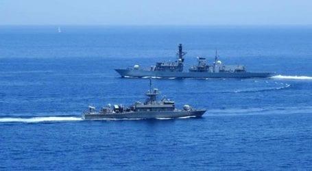 Συνεκπαίδευση ναυτικών δυνάμεων της Ελλάδας και της Μεγάλης Βρετανίας
