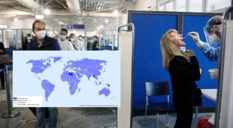 Οι μη εμβολιασμένοι ταξιδεύουν σε όλο τον κόσμο με τεστ PCR