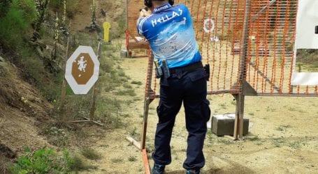 Βολιώτης αθλητής πρακτικής σκοποβολής στις πρώτες θέσεις του αγώνα Canal Challenge