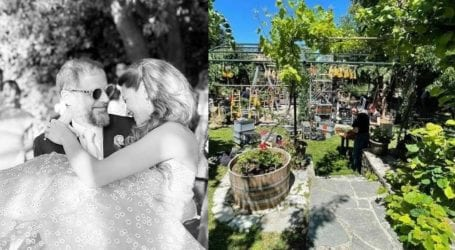 Στο Πάπιγκο ο γάμος του εφοπλιστή Λαιμού με την Αράπογλου-Εικόνες από τις πυρετώδεις προετοιμασίες