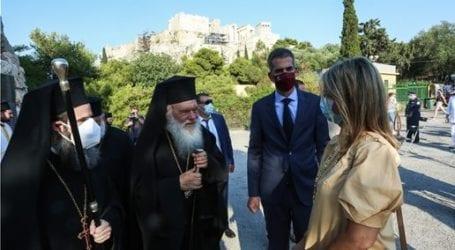 Η Υφυπουργός Παιδείας και Θρησκευμάτων στον Μέγα Πανηγυρικό Εσπερινό