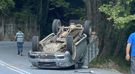 Σοβαρό τροχαίο ατύχημα στο Πήλιο – Ντεραπάρισε αγροτικό όχημα [εικόνες]