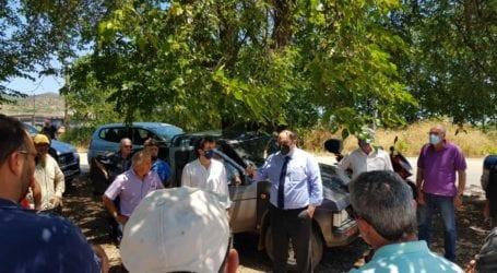 Χρ. Τριαντόπουλος: Δρομολογούνται με ταχείς ρυθμούς οι προβλεπόμενες διαδικασίες για τους πληγέντες αγρότες της Ν. Αγχιάλου