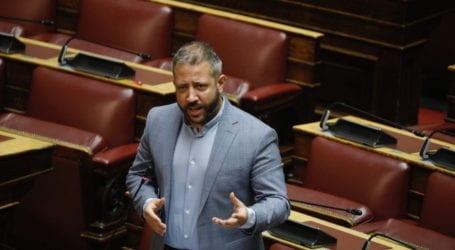 Αλ. Μεϊκόπουλος: Η κυβέρνηση δεν ασκεί σωφρονιστική πολιτική στη Μαγνησία