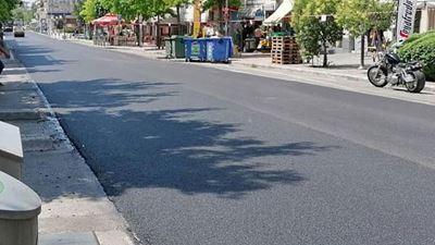 Θεσσαλονίκη: Ολοκληρώθηκε το έργο ασφαλτόστρωσης της οδού Ανδρέα Παπανδρέου στο Κορδελιό