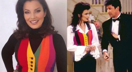 Fran Drescher: Η διάσημη «νταντά» φοράει 22 χρόνια μετά το διάσημο Moschino γιλέκο της