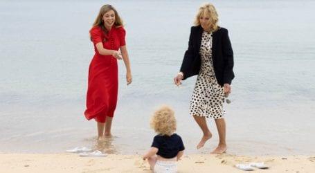 Carrie & Boris Johnson: O γιος τους έκλεψε την παράσταση στη συνάντηση με τον Joe και την Jill Biden
