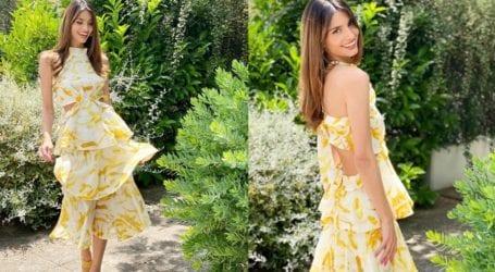 To summer dress της Ηλιάνας Παπαγεωργίου που μπορείτε να βάλετε εάν είστε καλεσμένες σε γάμο