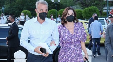 Όλγα Κεφαλογιάννη & Μίνως Μάτσας: Χέρι-χέρι στην επίδειξη του Dior στην Αθήνα