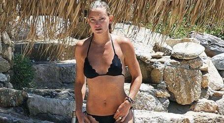 Διακοπές στην Ελλάδα για την Kate Hundson