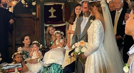 Οι πρώτες φωτογραφίες από τον γάμο του εφοπλιστή Λαιμού με την Αράπογλου στο Πάπιγκο