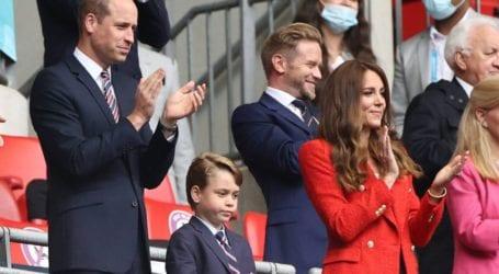 O πρίγκιπας George έκλεψε την παράσταση στο Wembley