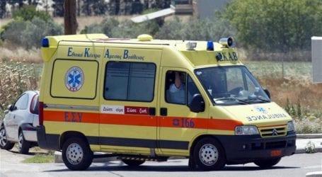 Δεύτερο πανομοιότυπο τροχαίο σήμερα στη Λάρισα – Αυτή την φορά τραυματίας ένας 46χρονος