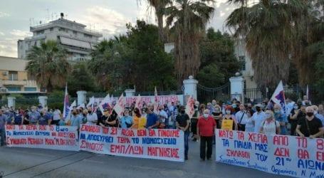 Βόλος: «Όχι» στο νομοσχέδιο Χατζηδάκη από τα σωματεία – Ψηφίστηκε με 158 «ναι» [εικόνες]