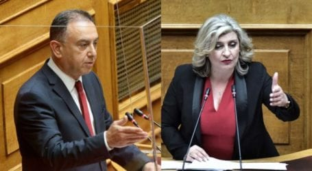"""Λαρισινός καυγάς στη βουλή: Η Λιακούλη μίλησε για """"εξαγορά"""" της νεολαίας και ο Κέλλας απάντησε ότι τα παιδιά του ζήτησαν… μέσον για να εμβολιαστούν!"""