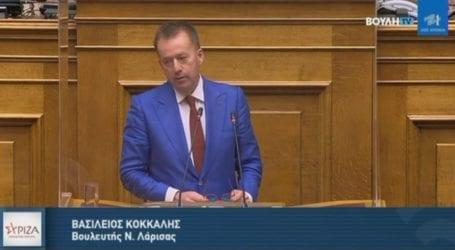 Κόκκαλης στην Επιτροπή Οικονομικών: Παραπλανητικές οι… 400 δόσεις αφού οι τράπεζες δεν υποχρεώνονται να συμμετέχουν στη διαδικασία