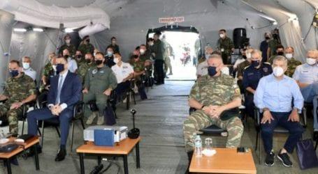 Στη Λάρισα παρουσία του υφ. Εθνικής Άμυνας, η μεγαλύτερης κλίμακας στρατιωτική άσκηση που διεξάγει η Ευρωπαϊκή Ένωση