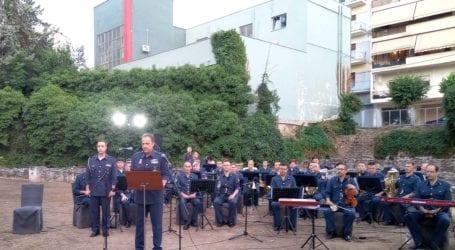 «Πέταξε» το Σμήνος Μουσικής Πολεμικής Αεροπορίας στη Λάρισα – Μελωδικές στιγμές στο Β' Αρχαίο Θέατρο