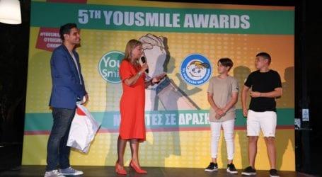 Η Ζέττα Μακρή στα 5α You Smile Awards του Χαμόγελου του Παιδιού