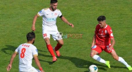 Ιστορική νίκη του Ολυμπιακού Βόλου στις Σέρρες, 1-0 τον Πανσερραϊκό