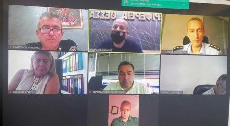 Περιφέρεια Θεσσαλίας: Έκτακτη σύσκεψη Συντονιστικού – Σε ισχύ μέτρα ενόψει υψηλού κινδύνου εκδήλωσης πυρκαγιάς
