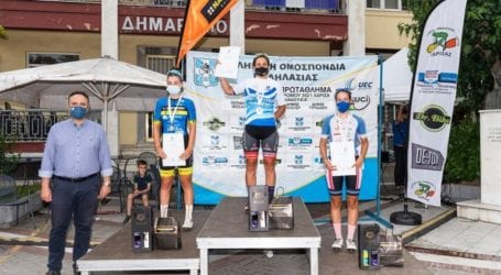 Δήμος Τυρνάβου: Απόλυτα επιτυχής η δεύτερη ημέρα του Πανελλήνιου Πρωτάθληματος Ποδηλασίας Δρόμου