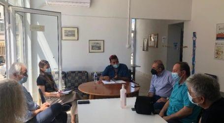 Συνάντηση στο Παράρτημα Ρομά του Δήμου Λαρισαίων για την επίλυση των προβλημάτων που αντιμετωπίζει η περιοχή