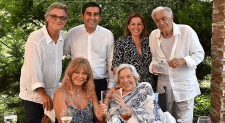 «Άρωμα» Χόλιγουντ στην Σκιάθο: Επίτιμοι δημότες οι καλλιτέχνες Richard Romanus και Anthea Sylbert