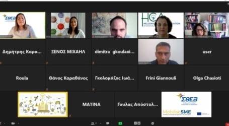 Πραγματοποιήθηκε με επιτυχία η διαδικτυακή ημερίδα του ΣΘΕΒ για το χρηματοδοτούμενο πρόγραμμα επιχειρήσεων MobiliseSME