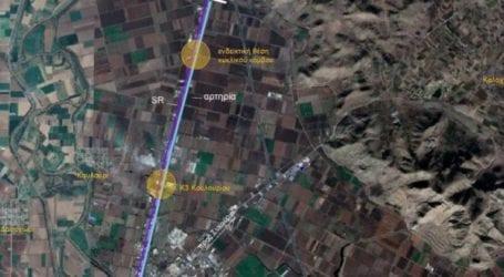 Περιφέρεια Θεσσαλίας: Βελτιώνει τον δρόμο από κόμβο Συκουρίου ως κόμβο Γυρτώνης