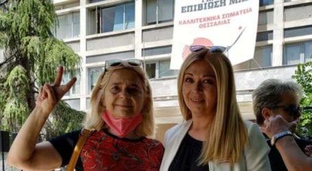 Στο πλευρό των καλλιτεχνών ο ΣΥΡΙΖΑ-ΠΣ Λάρισας