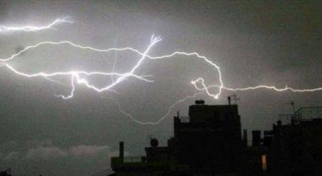 ΕΜΥ: Ραγδαία επιδείνωση του καιρού με καταιγίδες και κεραυνούς τις επόμενες ώρες