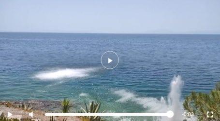 Βόλος: Άνδρες των Υποβρυχίων Καταστροφών εξουδετέρωσαν πέντε οβίδες στις Πλάκες – Δείτε το εντυπωσιακό βίντεο