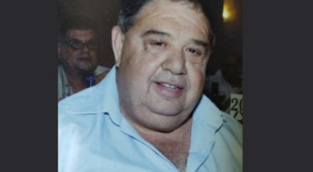 Λάρισα: Έφυγε ξαφνικά από τη ζωή στα 65 του, ο συνταξιούχος δημοτικός υπάλληλος Χρήστος Χρυσικός